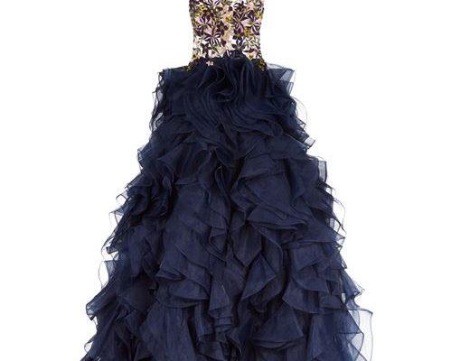 Ruffle Skirt Gown designer edit