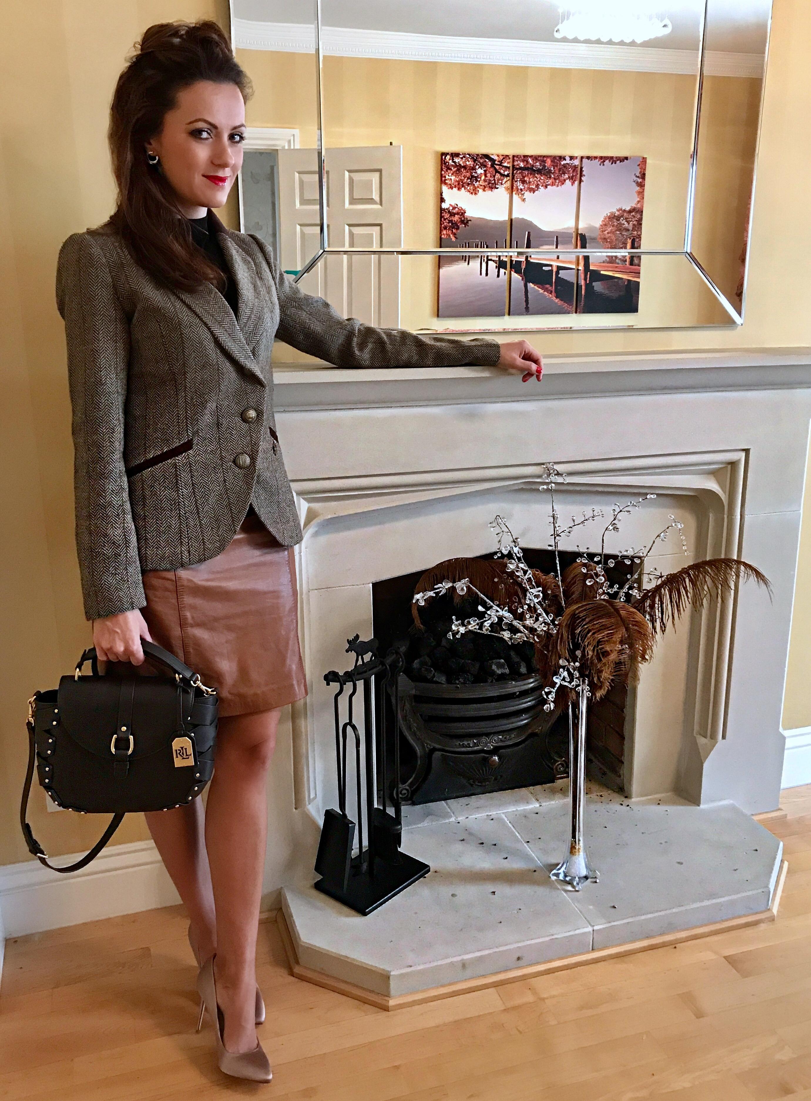 BRITISH HERITAGE   TWEED JACKET   brown hue   how to wear tweed   how to care for tweed   history of tweed