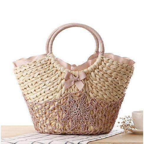 Elegant Duchess Boutique Elegant Straw Tote Bag - 2 colours available